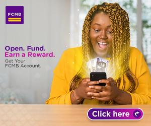 FCMB Open & Win Promo