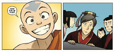 Avatar: The Last Airbender - The Promise part 1 by Gene Luen Yang - Aang