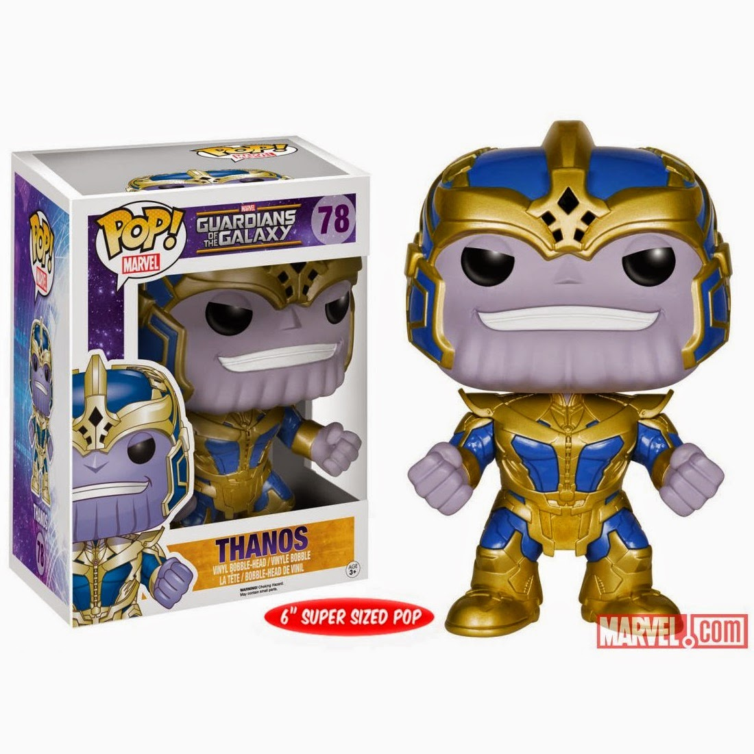 Guardians of the Galaxy Pop! Marvel Vinyl Figure Villains Series - Thanos