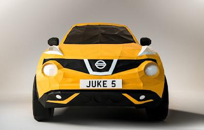 Ένα Nissan JUKE φτιαγμένο από… χαρτί!