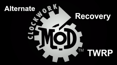 Clockworkmod Alternative Recovery TWRP Backup, Restore Android