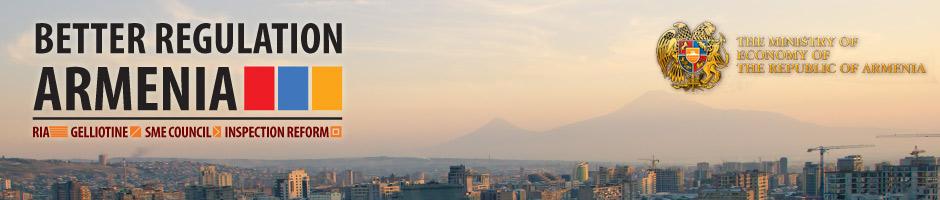 Better regulation in Armenia