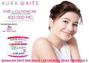 AURA WHITE PURE L GLUTATHIONE 400 000MG
