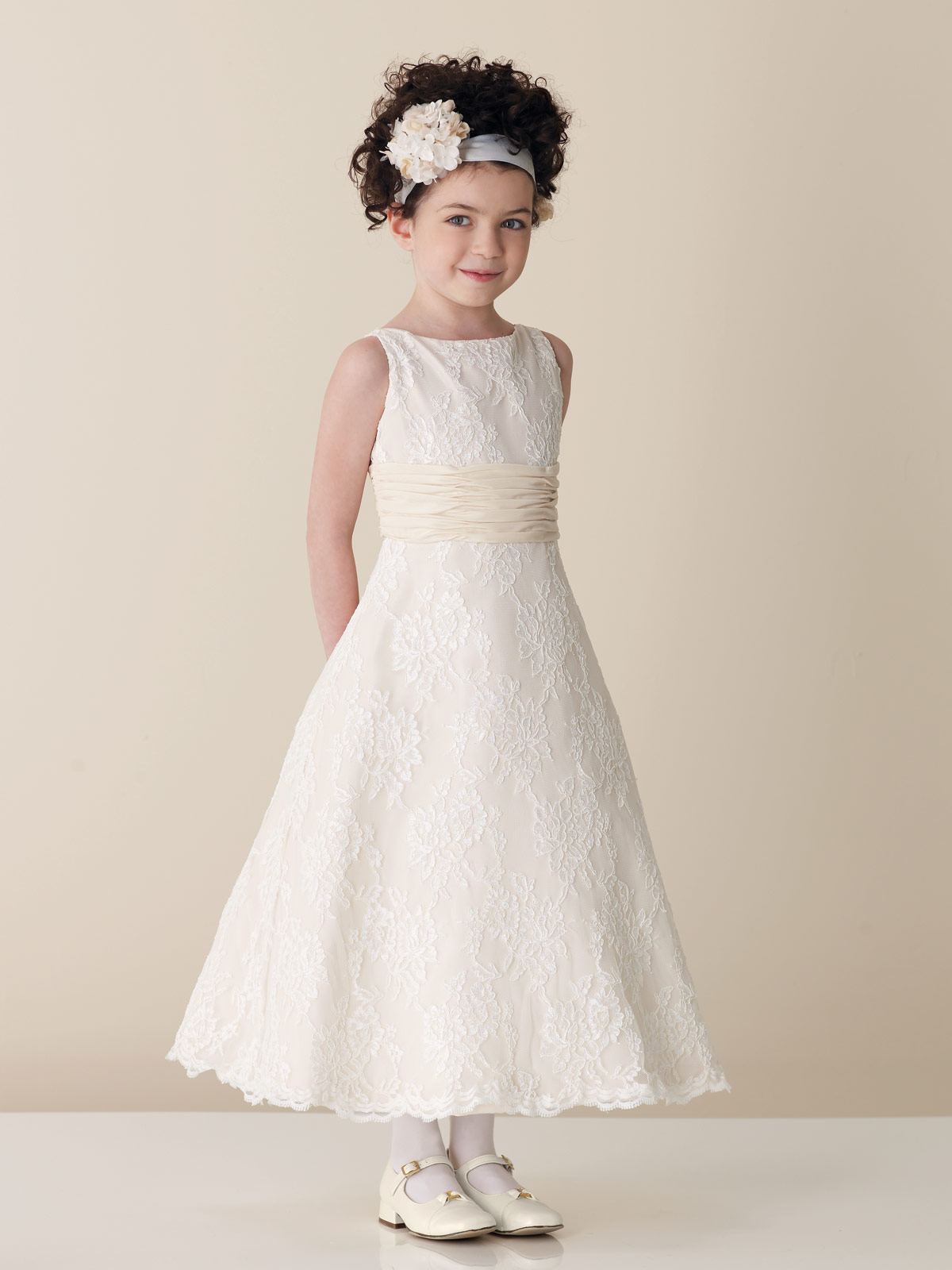Free wedding kids wedding dresses for Flower girls wedding dress