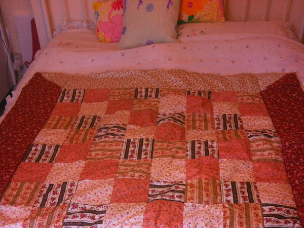My first patchwork quilt