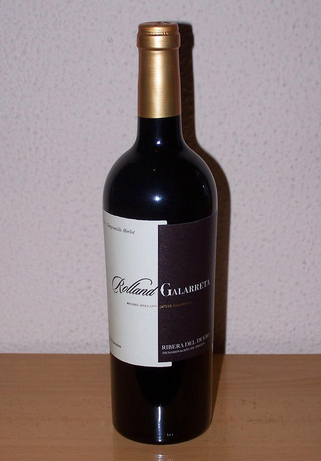 Rolland Galarreta 2010, D.o Ribera del Duero