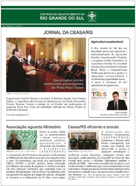 Jornal CEASA/RS