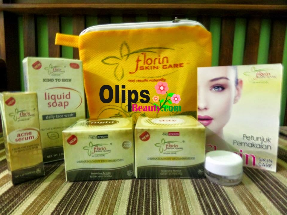 Florin Skin Care Krim Penghilang Jerawat bandel dan Bekas Jerawat
