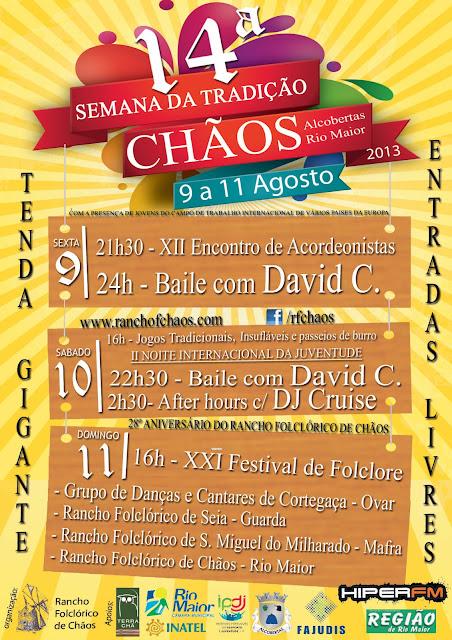 14ª Semana da Tradição - Chãos - Rio Maior