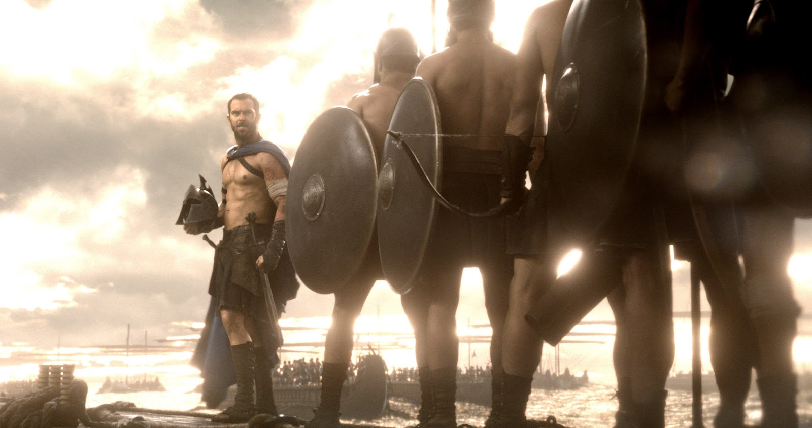 300: Rise of an Empire Sullivan Stapleton as Themistokles & Athenian Warriors