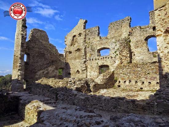 Castillo de Saissac, en Francia