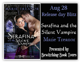 Release Day Blitz: Serafina and the Silent Vampire by Marie Treanor