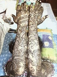 New bridal mehndi design 2015