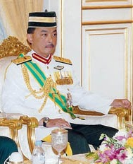 His Royal Highness Tengku Abdullah ibni Sultan Ahmad Shah is the first