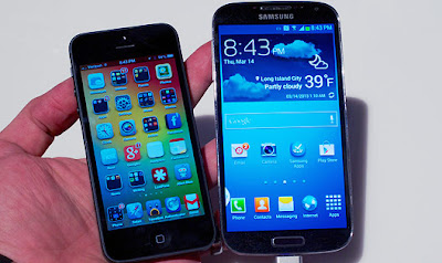 Galaxy S4 VS iPhone 5 Drop Test