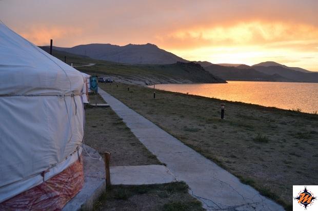 Maikhan Tolgoi Ger Camp, nei pressi del lago Terkhiin Tsagaan Nuur