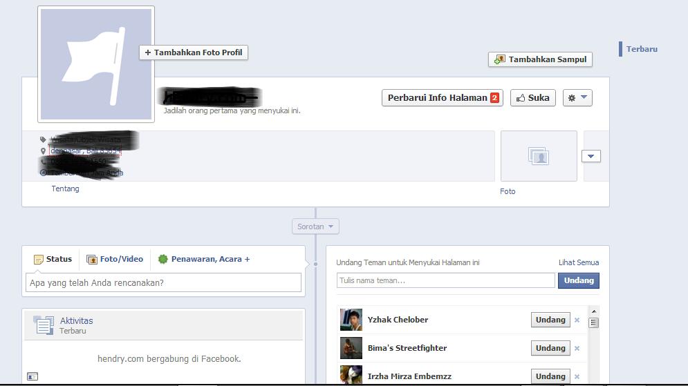bagaimana membuat fans page facebook
