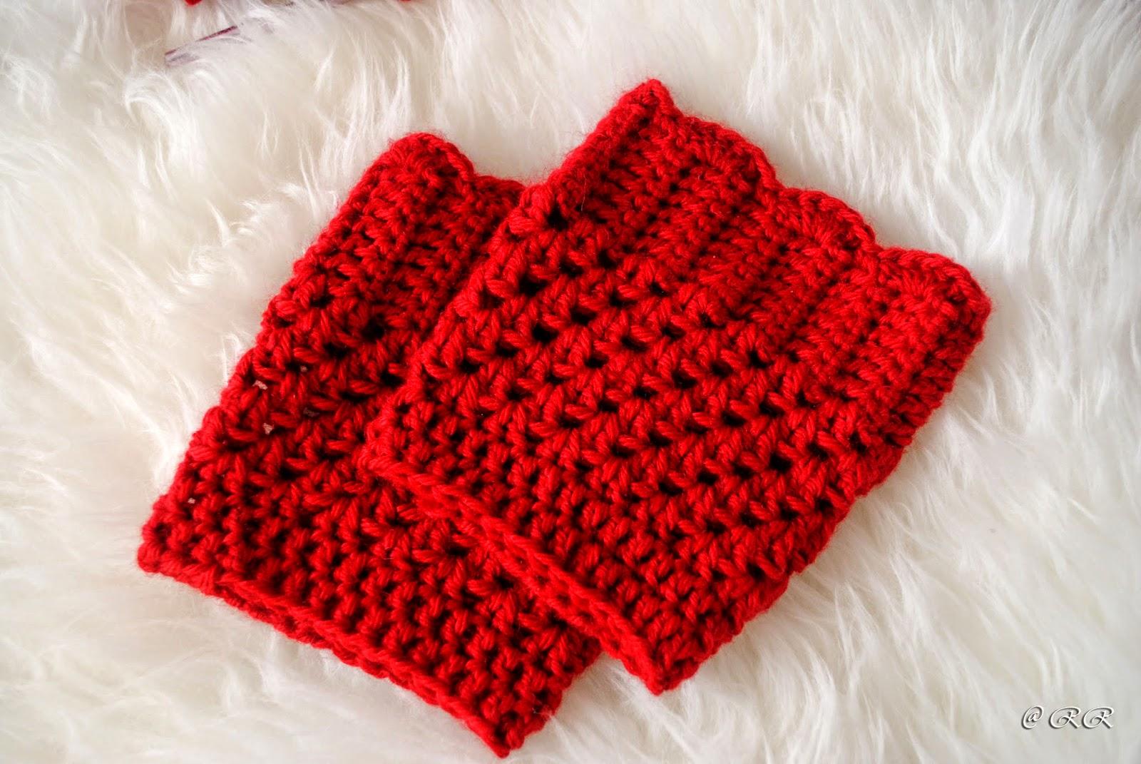 Increíble Patrones Reborde De La Bota Gratuitas Para Crochet Bandera ...