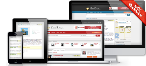 Free Download ClassiPress Worpdress Themes Version 3.4.1