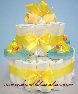 How to Make a Diaper Cake