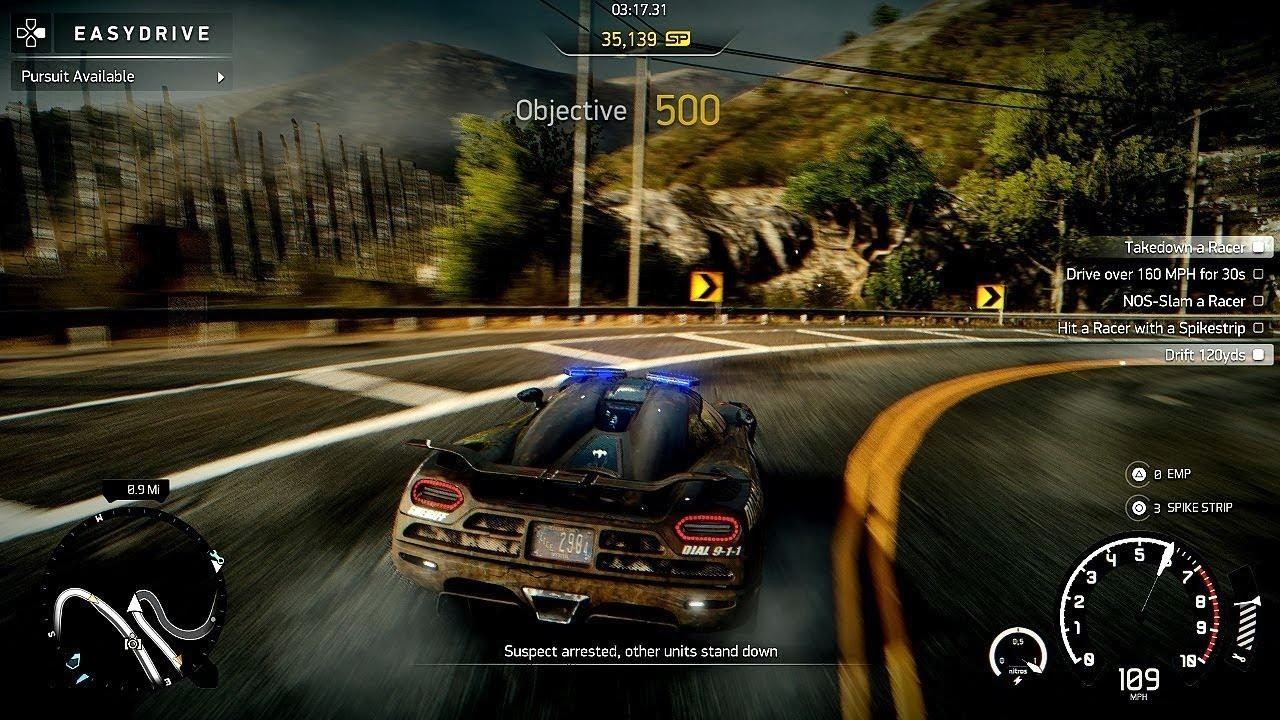 Review Need For Speed Rivals PS3