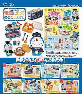 Re-ment Doraemon and Rilakkuma