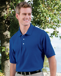 Devon /& Jones Mens Pima Pique Polo Shirt