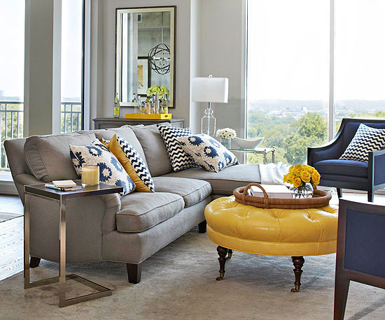 2013 Contemporary Living Room Decorating Ideas from BHG ...