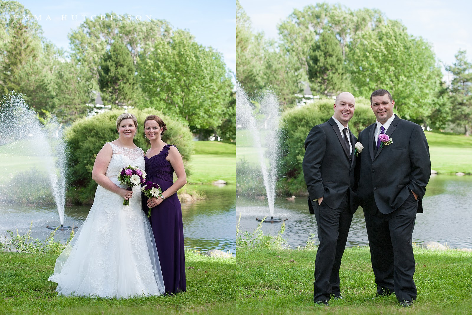 Weddings at Church Road Park in Grand Falls-Windsor - photography by Emma Hutchinson