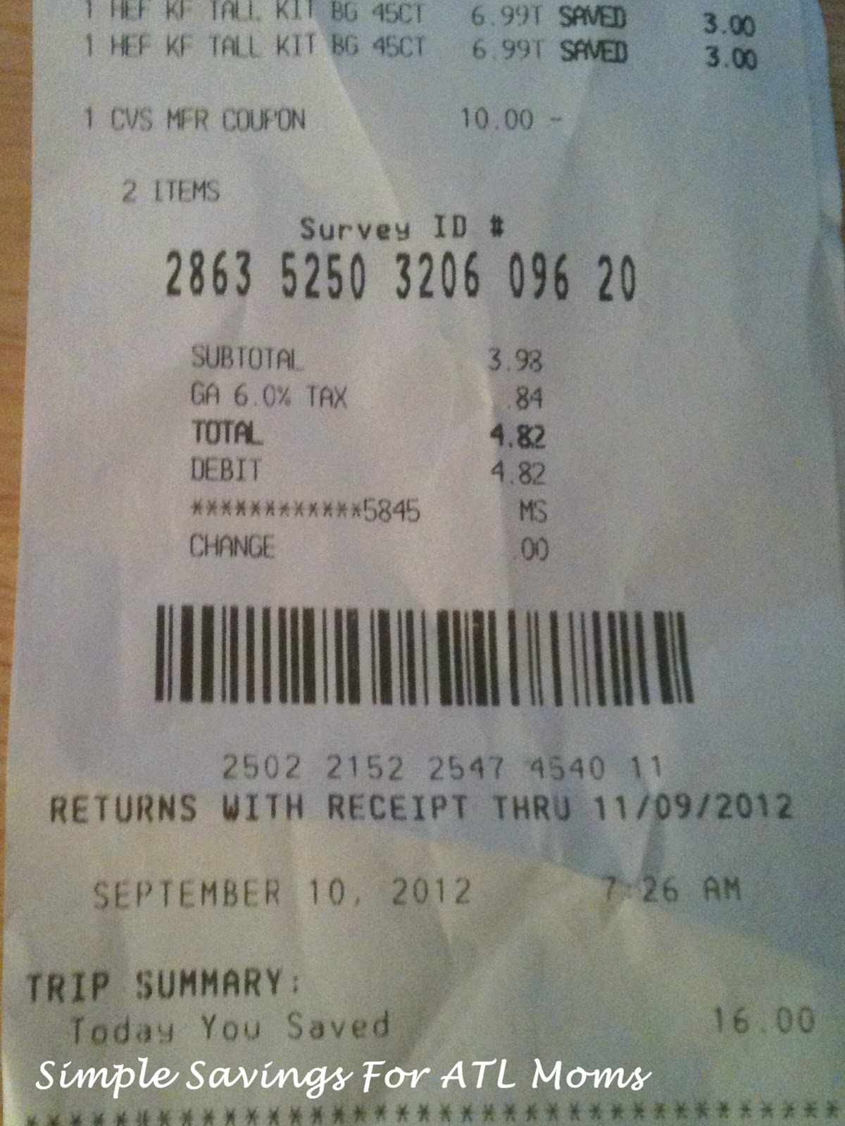 cvs return policy no receipt images