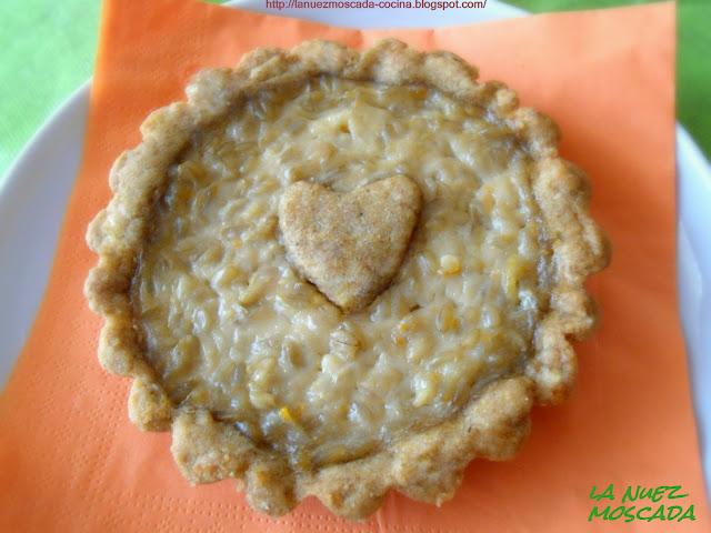 pastiera vegana con frolla integrale di kamut e chicchi d'avena - tarta pastiera con frolla de trigo kamut integral y granos de avena