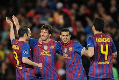 Barcellona Bayer Leverkusen 7-1 highlights sky