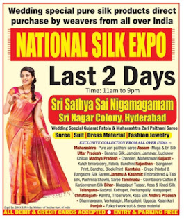 National silk expo Hyderabad| Saree Jewelry expo