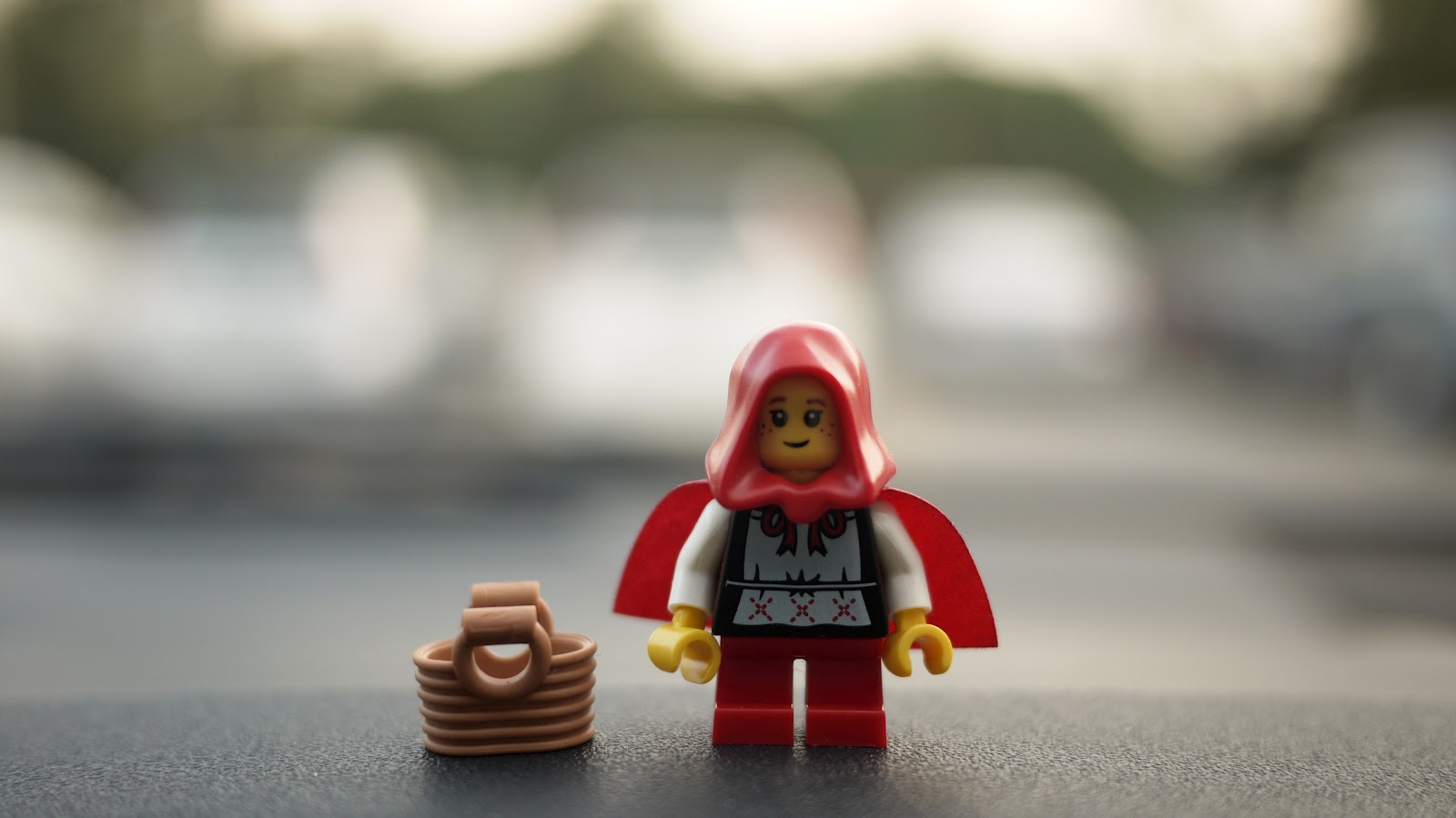 Once Upon A Time On A Bright Sunny Day, Little Red Riding Hood Decides