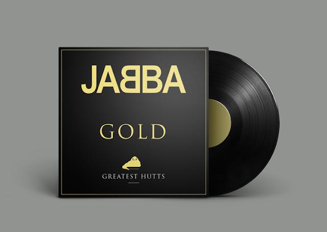 Star Wars Bands | Bekannte Plattencover im Star Wars ReDesign - JABBA Gold