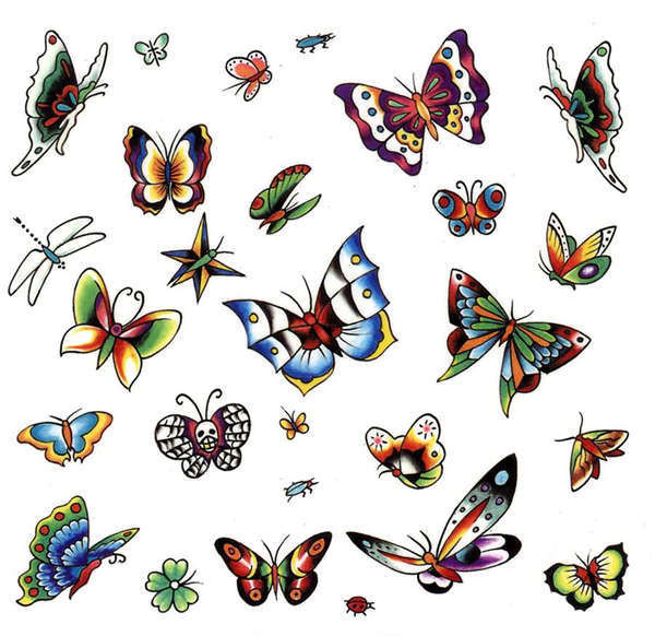 butterfly tattoos designs part12 Posted by messi at 632 PM