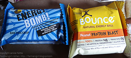 The Bounce Natural Energy Ball in Peanut Protein Blast tastes very ...
