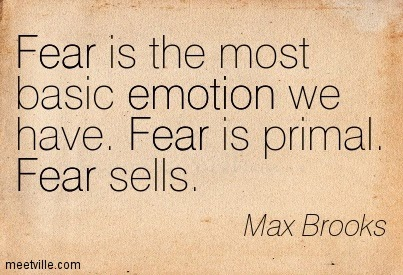 the emotion of fear in life and in literature Learn exactly what happened in this chapter, scene, or section of emotion and what it means perfect for acing essays the psychologist paul ekman and his colleagues have identified six basic emotions: happiness, sadness, anger, fear, surprise, and what literary genre is your life.
