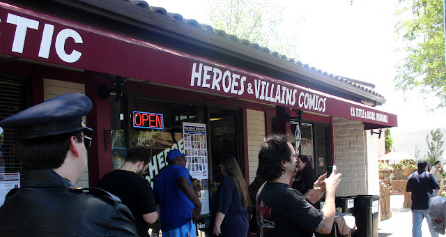 Heroes & Villains Comics Free Comic Book Day pic