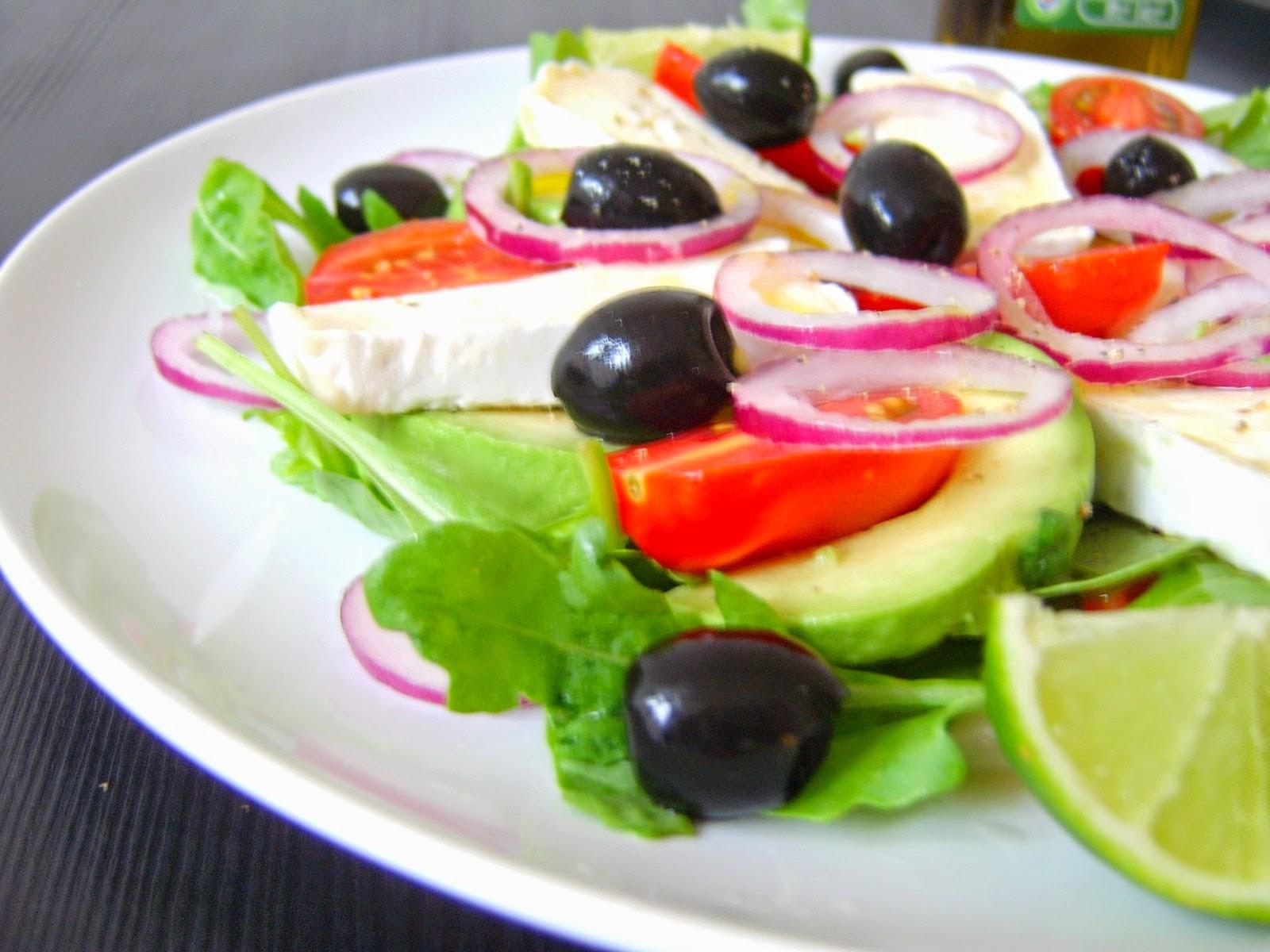 Wino Francja Kuchnia Sałatka z serem brie na rukoli z   -> Kuchnia Gazowa Eka