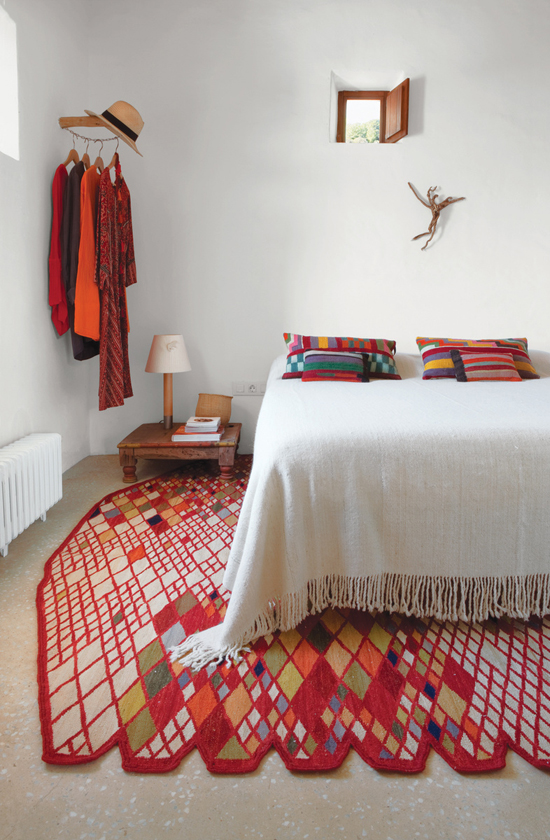 Ethnic inspired bedroom