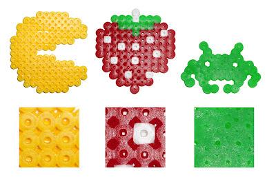 Diferentes tipos de planchado Hama Beads