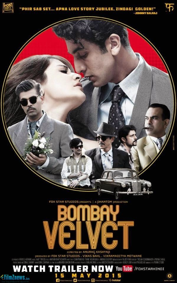 Bombay Velvet (2015) First Look Posters 2