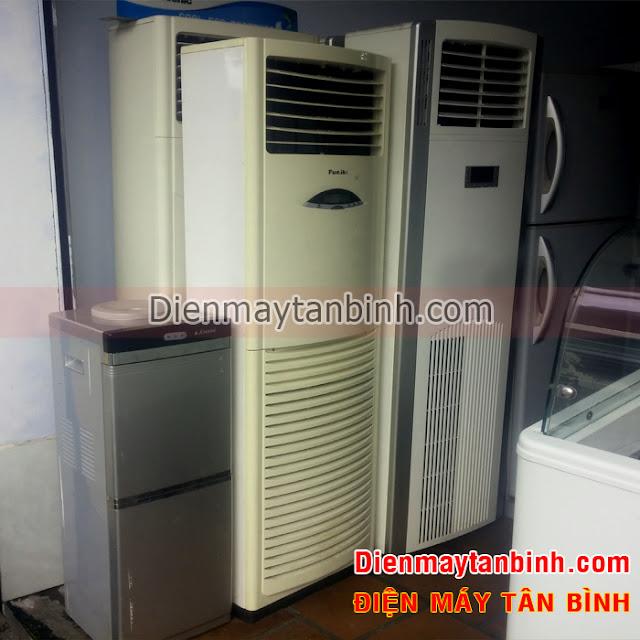 Bán thanh lý máy lạnh tủ đứng cũ Funiki 3hp