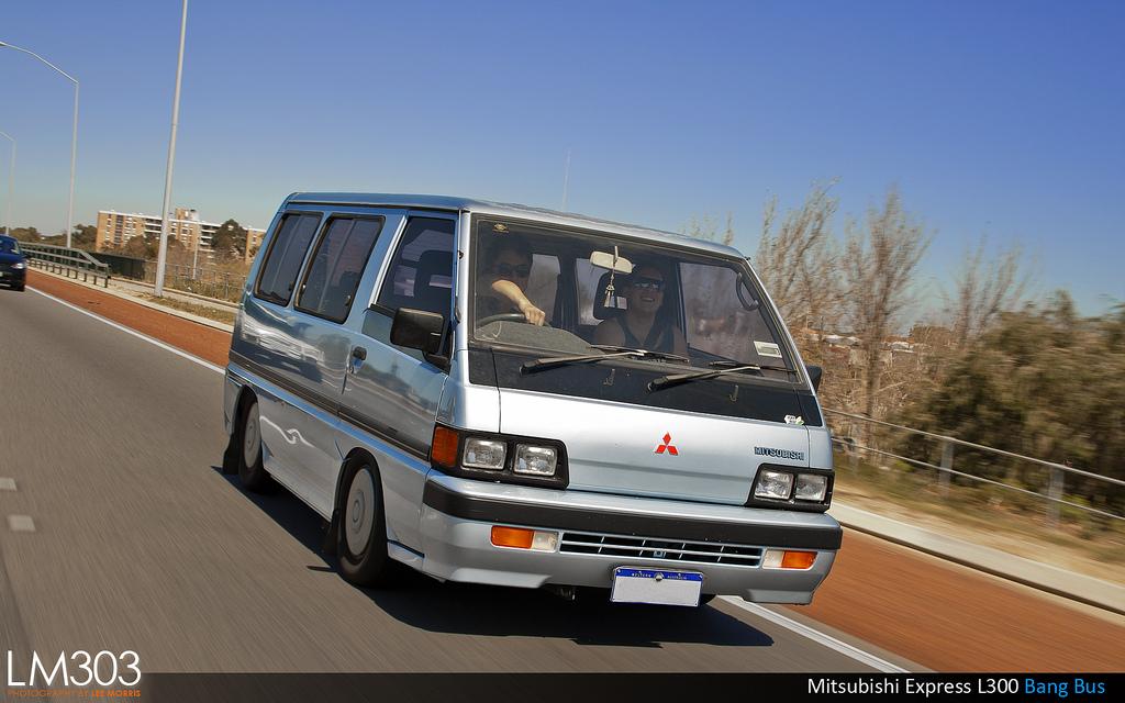 Mitsubishi L300, japoński bus, zdjęcia