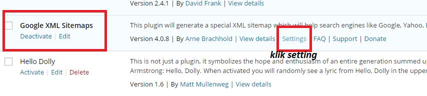 plugin xml sitemap wordpress versi 4.0.8