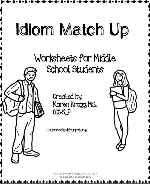 The Pedi Speechie Idiom Worksheets – Idiom Worksheets