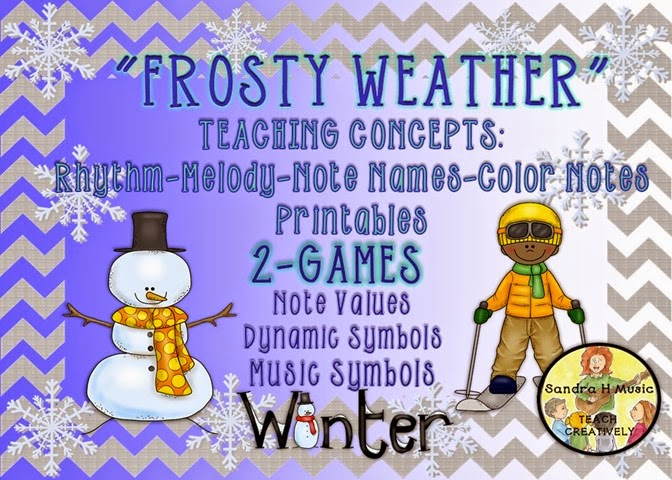 FROSTY WEATHER GAME SONG TO SING & PLAY
