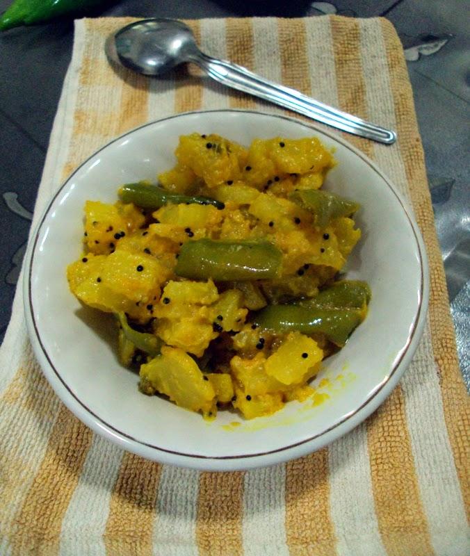 Papaya Sambharo