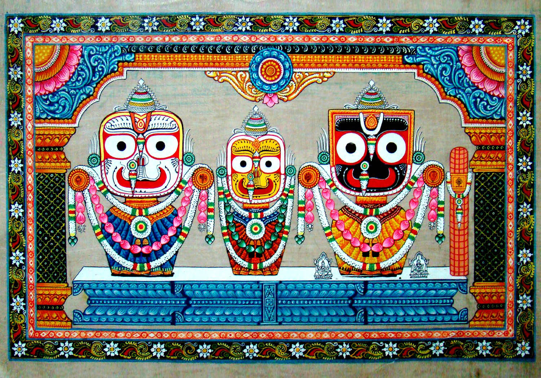 jayajagannath paintings and pattachitra of lord jagannath